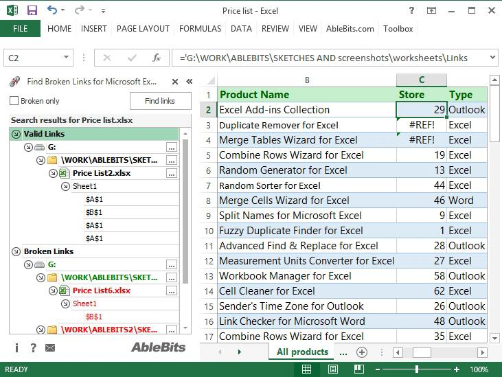 How to find broken links in Excel that can't be broken ...