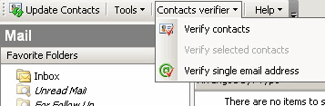 MAPILab Actual Contacts for Outlook: Contacts verifier