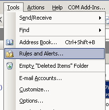 MP Print: Configuring Outlook Rules and Alerts